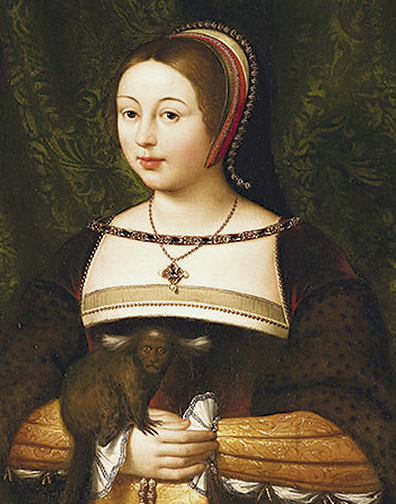 Margaret Tudor, Queen of Scotland (1489-1541), c.1620-38 (oil on canvas)
